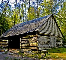 Old Smoky Mountain Barn by ©  Paul W. Faust