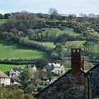 Branscombe Village by lynn carter