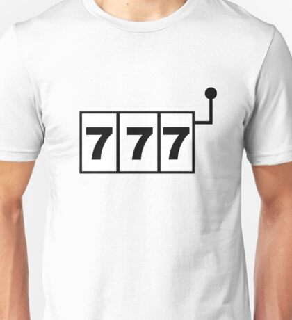 Casino Symbol Unisex T-Shirt