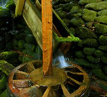 Power Wheel of old Grist Mill by ©  Paul W. Faust