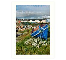 claddagh boats.. Art Print