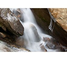 Bent Run Rushes Towards Spring Photographic Print