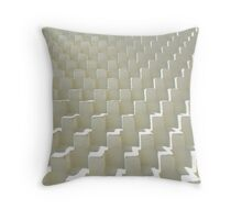 Abstract Cubs Texture Throw Pillow