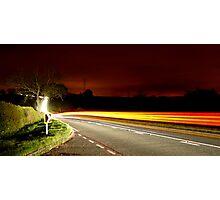Lightning McQueen Photographic Print