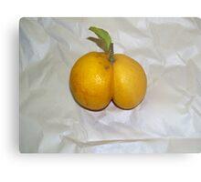Lemon Butt Metal Print
