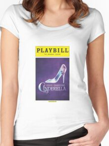 Cinderella Playbill Women's Fitted Scoop T-Shirt