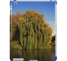 Weeping Willow Tree by the canal iPad Case/Skin