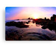 Sea pond Canvas Print