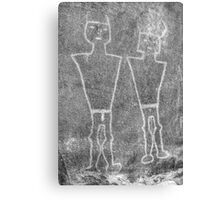 Knobby Knee Twins Canvas Print