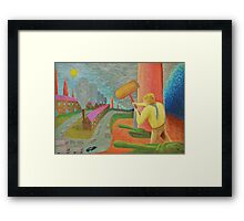 Brave New World  /   Society Framed Print