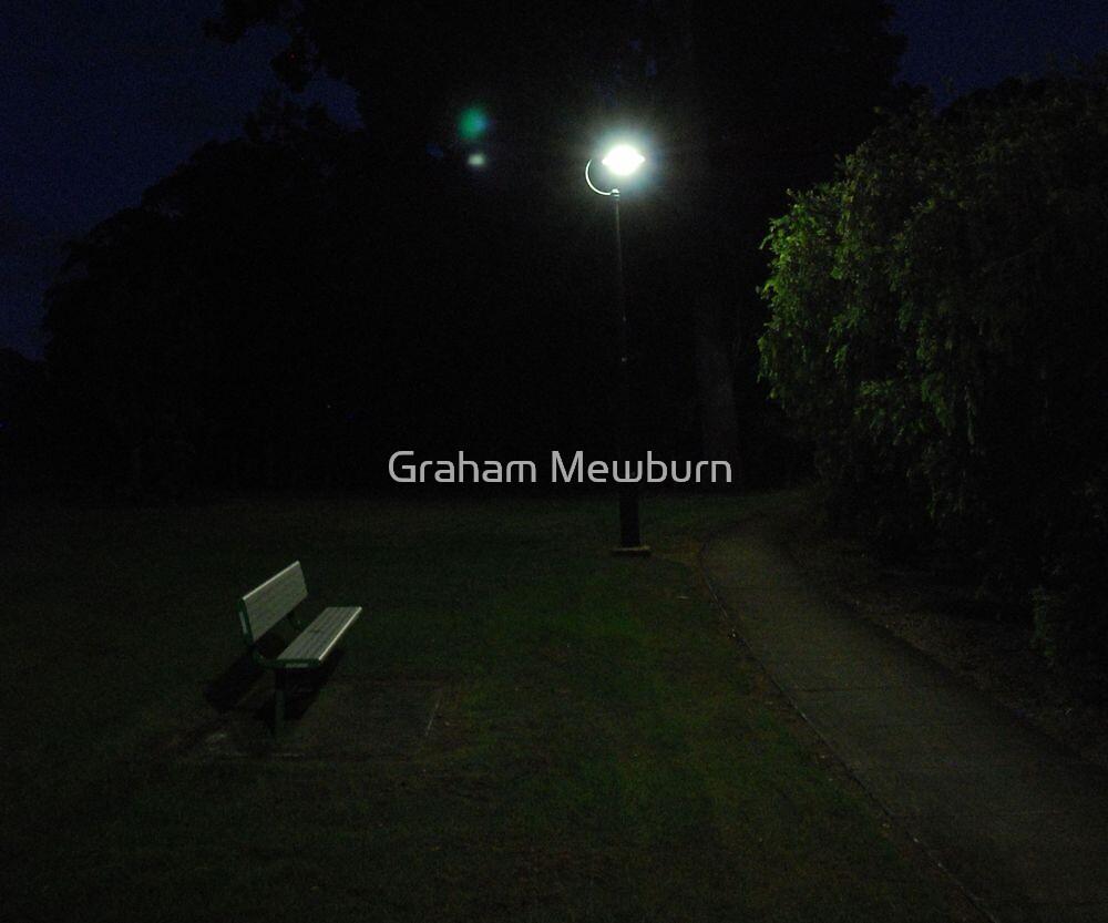 The Love Seat ....... waiting by Graham Mewburn