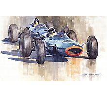 BRM P261 1965 Italian GP Stewart Hill Photographic Print