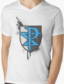 Team Plasma Crest Mens V-Neck T-Shirt