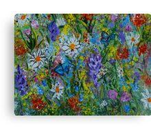 Garden Rhythm, wall art, home decor  Canvas Print