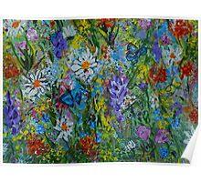 Garden Rhythm, wall art, home decor  Poster