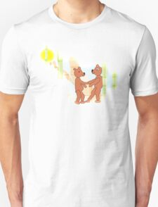Larravide Dancing Bears  Unisex T-Shirt