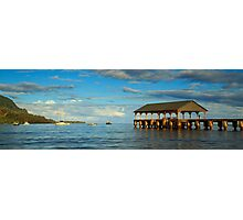 Morning Light On The Hanalei Pier Photographic Print