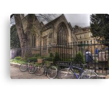 Pembroke Square - Oxford Canvas Print