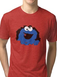 cookie monsta Tri-blend T-Shirt