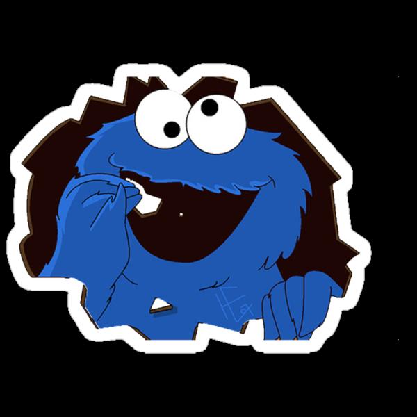 cookie monsta by niko619