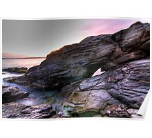 Beavertail Rock Formation Poster