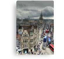 The High Street - Oxford Canvas Print
