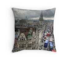 The High Street - Oxford Throw Pillow