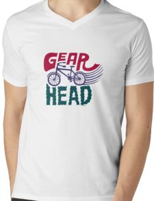 Gearhead - colored Mens V-Neck T-Shirt