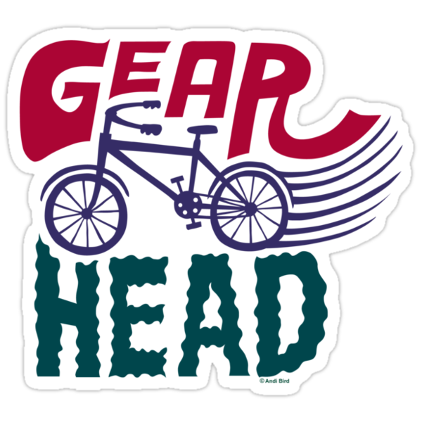 Gearhead - colored by Andi Bird