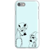 Lady and the Tramp iPhone Case/Skin