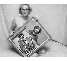 My Modern Family Portrait Photographic Print