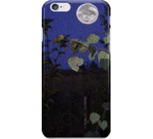 Full Moon, Tranquility, home decor, wall decor iPhone Case/Skin