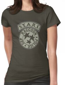 Resident Evil S.T.A.R.S. Womens Fitted T-Shirt