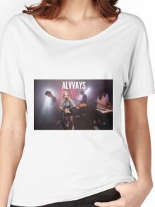 Alvvays Live Women's Relaxed Fit T-Shirt