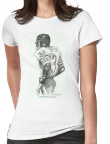 """Sweetness"" Caricature by Sheik Womens Fitted T-Shirt"