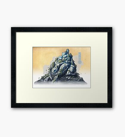 The White King's Rook Framed Print