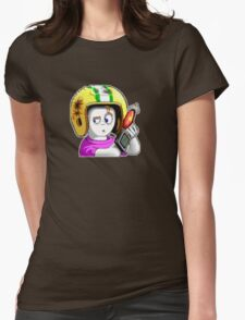 Commander Keen Womens Fitted T-Shirt