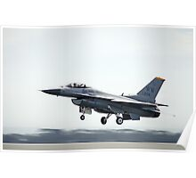 F-16 Fighting Falcon (SSGT Eric McClarey) Takeoff Poster