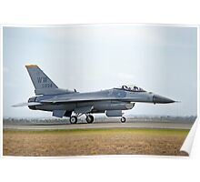 F/A-18F Super Hornet (TAXI) Poster