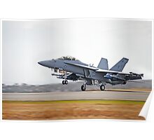 F/A-18F Super Hornet (Takeoff) Poster