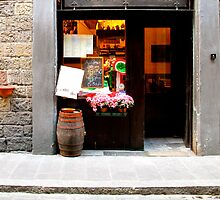 Trattoria - Florence, Italy by Britland Tracy
