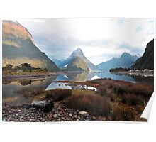 Milford Sound. South Island, New Zealand. (2) Poster