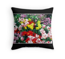 Spring Flowers #2 Throw Pillow