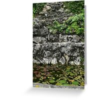Waterfall in Montego Bay Greeting Card