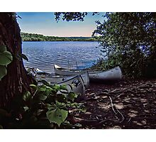 Shady Rest in HDR Photographic Print