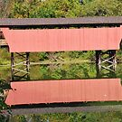 Belmont County Covered Bridge by Chad Wilkins
