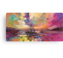 Loch Fyne Colour Canvas Print