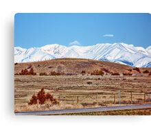 Why We Endure the Cold Canvas Print