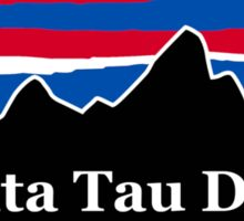 Delta Tau Delta Red White and Blue Sticker