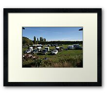 Okuku PC rally at Gracebrook (1269) Framed Print